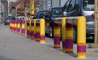 Multi-colour verkeersbeugels