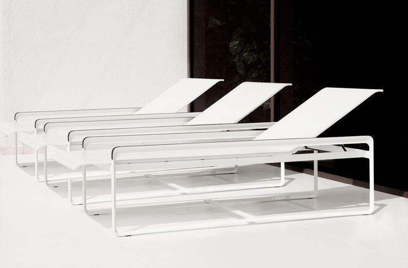 Aluminium ligstoelen