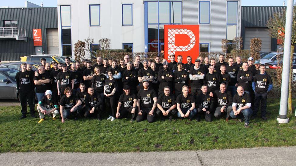 The entire Provan team...