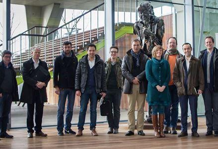 Commissie energie bezoekt warmtenet Antwerpen