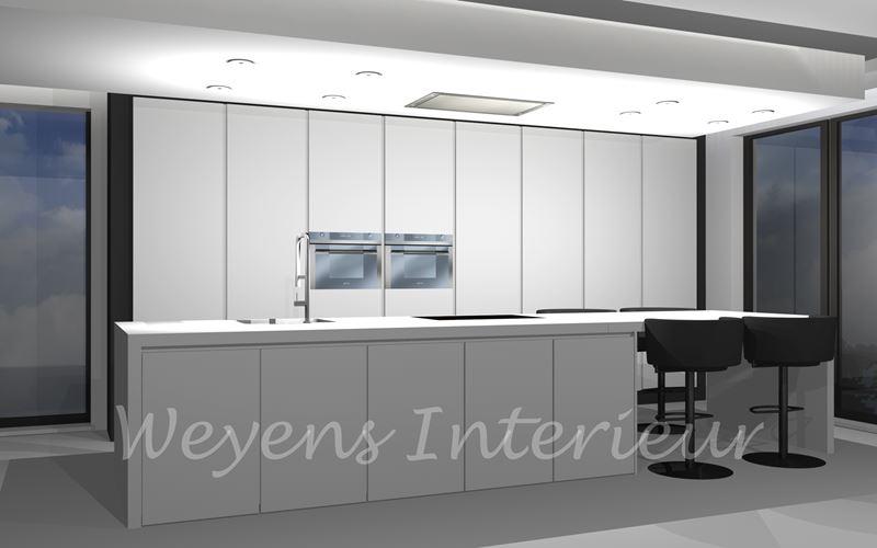 Weyens interieur lummen d keukens