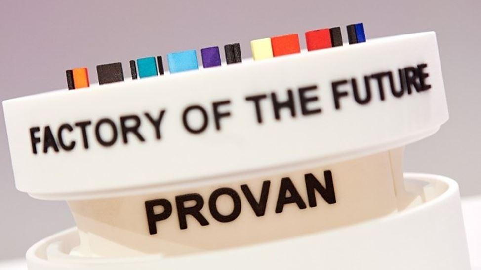 Provan uitgeroepen tot fabriek van de toekomst.
